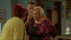 Angie Rebecchi, Russell Brennan, Sheila Canning in Neighbours Episode 7196