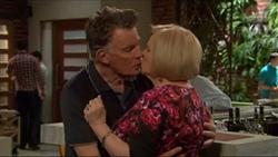 Russell Brennan, Sheila Canning in Neighbours Episode 7196
