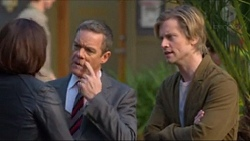 Naomi Canning, Paul Robinson, Daniel Robinson in Neighbours Episode 7197