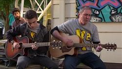 Ben Kirk, Karl Kennedy in Neighbours Episode 7198