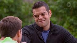 Aaron Brennan, Nate Kinski in Neighbours Episode 7198
