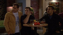 Aaron Brennan, Josh Willis, Nate Kinski in Neighbours Episode 7198