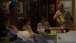 Toadie Rebecchi, Susan Kennedy, Ben Kirk, Karl Kennedy in Neighbours Episode 7198