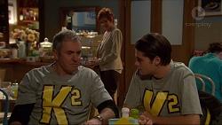 Karl Kennedy, Susan Kennedy, Ben Kirk in Neighbours Episode 7198