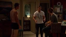 Mark Brennan, Aaron Brennan, Tyler Brennan in Neighbours Episode 7199