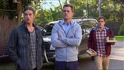 Tyler Brennan, Mark Brennan, Aaron Brennan in Neighbours Episode 7199