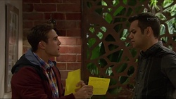 Aaron Brennan, Nate Kinski in Neighbours Episode 7199