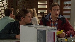 Tyler Brennan, Aaron Brennan in Neighbours Episode 7199