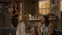 Paige Smith, Amber Turner, Imogen Willis in Neighbours Episode 7200