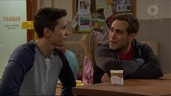 Josh Willis, Aaron Brennan in Neighbours Episode 7200