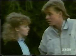 Charlene Mitchell, Scott Robinson in Neighbours Episode 0302