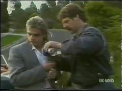 Shane Ramsay, Alex Carter in Neighbours Episode 0302