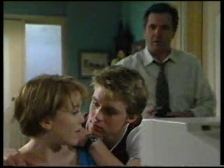 Libby Kennedy, Billy Kennedy, Karl Kennedy in Neighbours Episode 3045