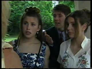 Anne Wilkinson, Lance Wilkinson, Hannah Martin in Neighbours Episode 3045