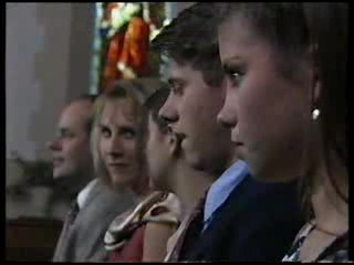 Philip Martin, Ruth Wilkinson, Hannah Martin, Lance Wilkinson, Anne Wilkinson in Neighbours Episode 3045