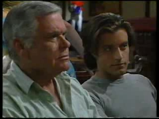 Lou Carpenter, Drew Kirk in Neighbours Episode 3045