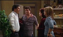 Joe Scully, Mick Scully, Lyn Scully, Steph Scully in Neighbours Episode 3670