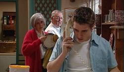 Madge Bishop, Harold Bishop, Tad Reeves in Neighbours Episode 3670
