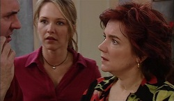 Karl Kennedy, Steph Scully, Lyn Scully in Neighbours Episode 3671