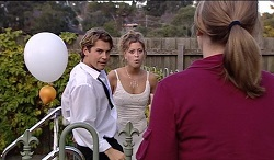 Joel Samuels, Felicity Scully, Steph Scully in Neighbours Episode 3671