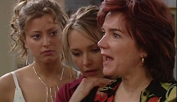 Felicity Scully, Steph Scully, Lyn Scully in Neighbours Episode 3671