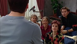 Darcy Tyler, Dahl, Felicity Scully, Steph Scully, Lyn Scully, Joel Samuels in Neighbours Episode 3671