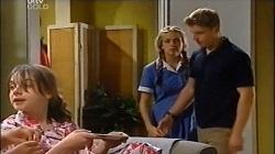Summer Hoyland, Sky Mangel, Boyd Hoyland in Neighbours Episode 4676