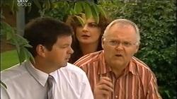 David Bishop, Liljana Bishop, Harold Bishop in Neighbours Episode 4676
