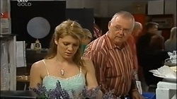 Izzy Hoyland, Harold Bishop in Neighbours Episode 4676