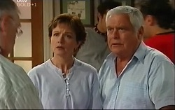 Harold Bishop, Susan Kennedy, Lou Carpenter in Neighbours Episode 4703