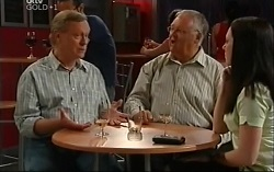 Ray Hope, Harold Bishop, Gabrielle Walker in Neighbours Episode 4703