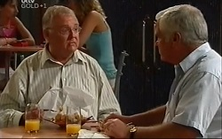 Harold Bishop, Lou Carpenter in Neighbours Episode 4703