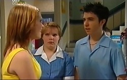Janae Timmins, Bree Timmins, Stingray Timmins in Neighbours Episode 4703