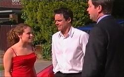 Serena Bishop, Paul Robinson, David Bishop in Neighbours Episode 4704