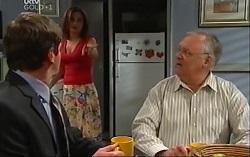 David Bishop, Liljana Bishop, Harold Bishop in Neighbours Episode 4704