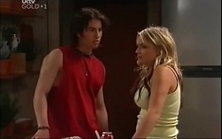 Dylan Timmins, Sky Mangel in Neighbours Episode 4706