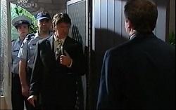 Detective Alec Skinner, David Bishop in Neighbours Episode 4707