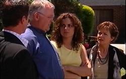 Paul Robinson, Harold Bishop, Liljana Bishop, Susan Kennedy in Neighbours Episode 4708