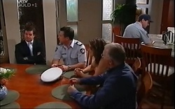 David Bishop, Allan Steiger, Liljana Bishop, Harold Bishop in Neighbours Episode 4708