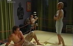 Stuart Parker, Toadie Rebecchi, Sindi Watts in Neighbours Episode 4710