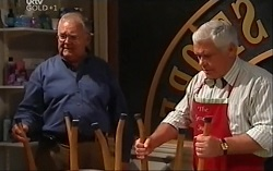 Harold Bishop, Lou Carpenter in Neighbours Episode 4710