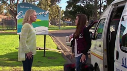 Lauren Turner, Paige Novak in Neighbours Episode 7202