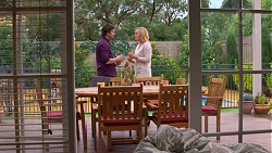 Brad Willis, Lauren Turner in Neighbours Episode 7202