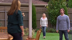 Terese Willis, Lauren Turner, Brad Willis in Neighbours Episode 7202