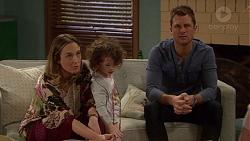 Sonya Mitchell, Nell Rebecchi, Mark Brennan in Neighbours Episode 7203