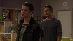 Ben Kirk, Tyler Brennan in Neighbours Episode 7203