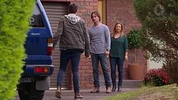 Josh Willis, Brad Willis, Terese Willis in Neighbours Episode 7203