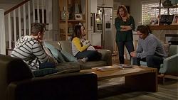 Josh Willis, Imogen Willis, Terese Willis, Brad Willis in Neighbours Episode 7203