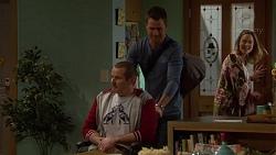 Toadie Rebecchi, Mark Brennan, Sonya Mitchell in Neighbours Episode 7203