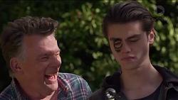 Russell Brennan, Ben Kirk in Neighbours Episode 7203